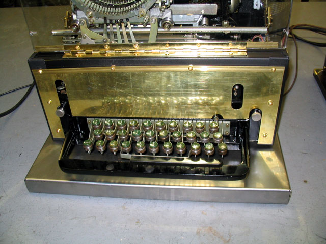 Teletype front closeup